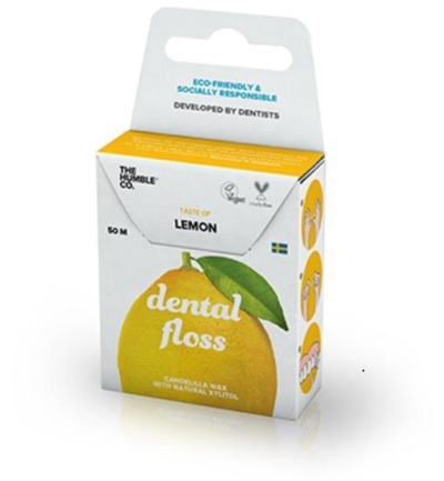 Dental floss lemon 50 meter