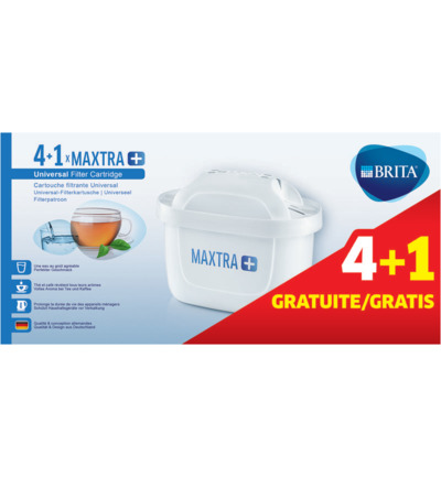 Waterfilterpatroon Maxtra+ 4 + 1
