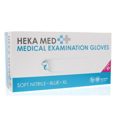 Medical gloves soft nitrile XL