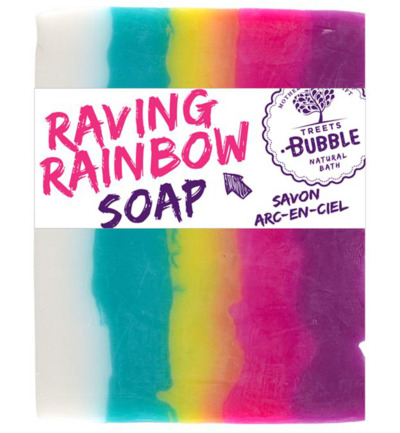 Soap raving rainbow