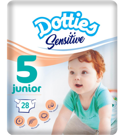 Sensitive baby luiers junior 5