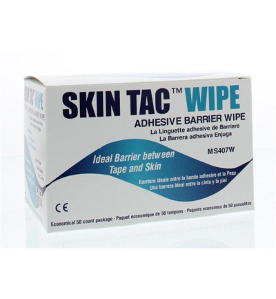 Skin tac wipe MS407W