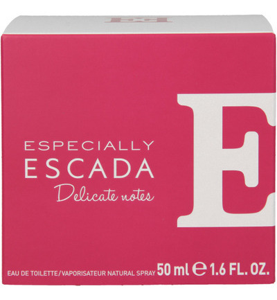 Especially delicate notes eau de toilette
