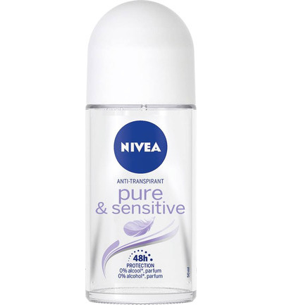 Deodorant roller sensitive & pure