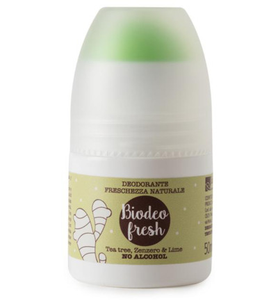 Deodorant bio fresh tea ginger & lime