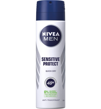 Men deodorant spray sensitive protect
