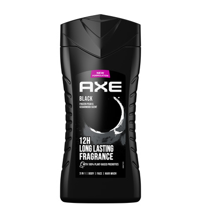 Shower gel black