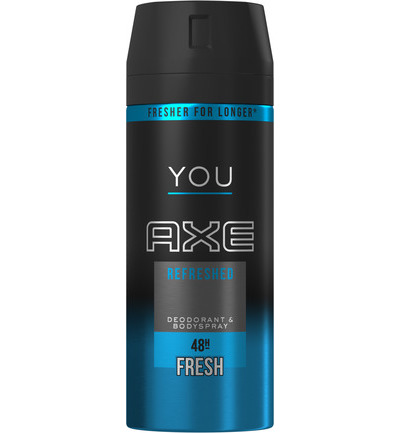 Deodorant bodyspray refreshed