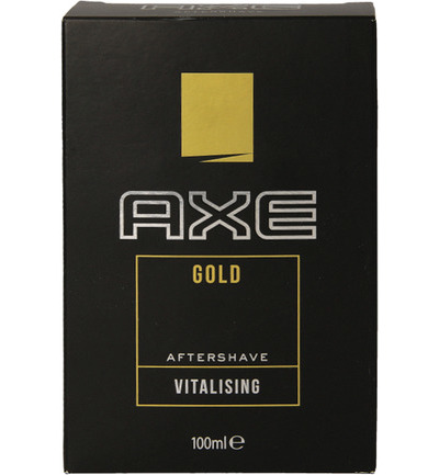 Aftershave gold