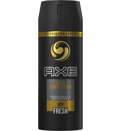 Deodorant bodyspray gold temptation