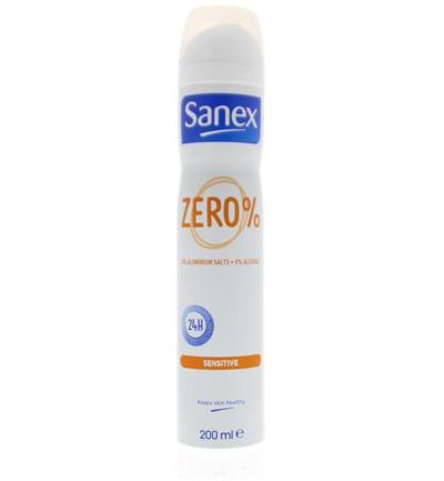 Deodorant spray zero % sensitive