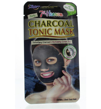 7th Heaven face mask charcoal tonic sheet