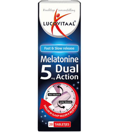 Melatonine 5 mg dual action