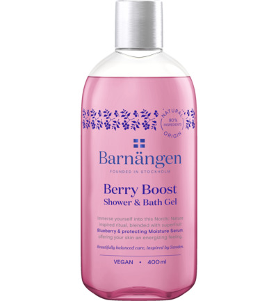 Shower & bath gel berry boost