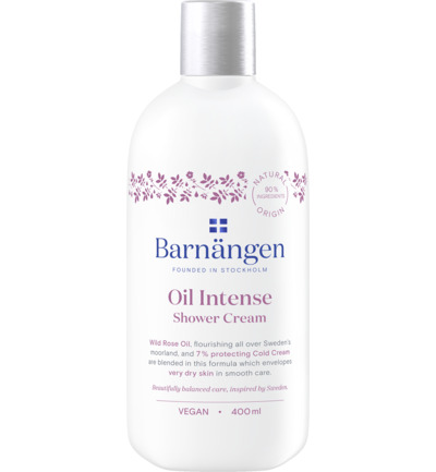 Shower cream oil intense