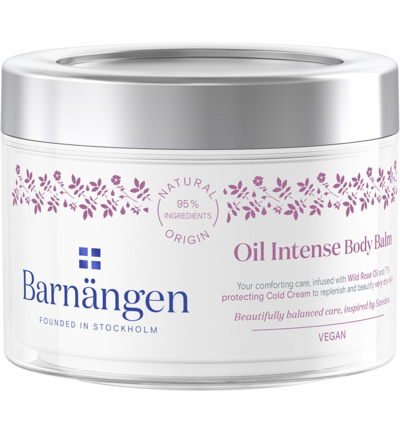 Body balm oil intense rose