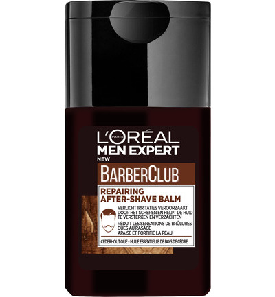 Men expert barber club aftershave