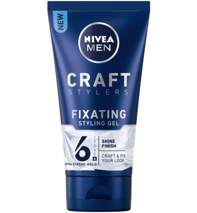 Men styling gel shine