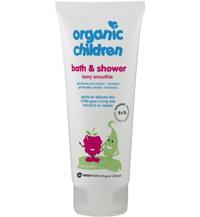 Organic children bad & douche gel berry smoothie