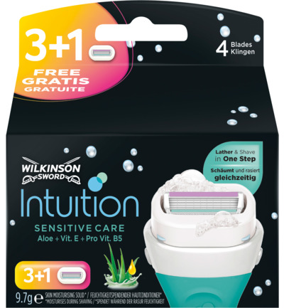 Intuition sensitive care mesjes