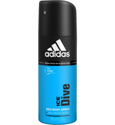 Men deodorant spray ice dive
