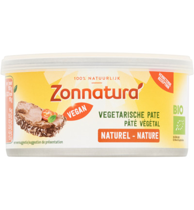Vegetarische pate naturel