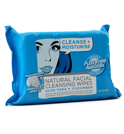 Face wipes C+ refresh