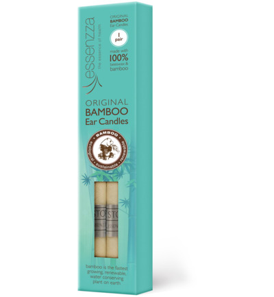Ear candles bamboo