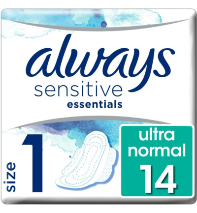 Maandverband essentials sensitive normaal
