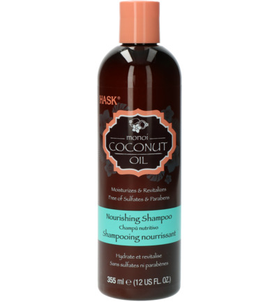 Monoi coconut oil nourishing shampoo