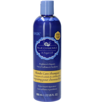 Blue chamomile & argan oil blonde shampoo