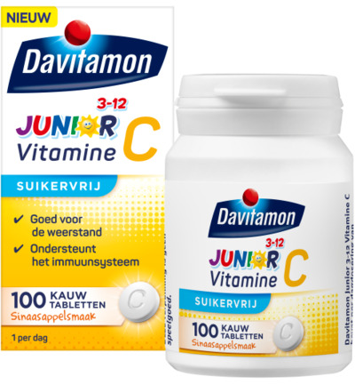 Junior vitamine C sinaasappel