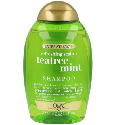 Extra strength refr scalp & tea tree mint shampoo
