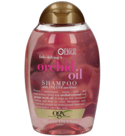 Fade defying+ orchid oil shampoo