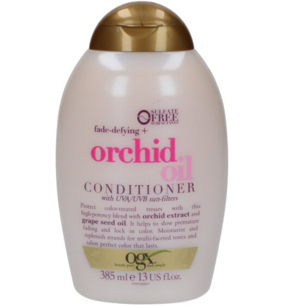 Fade defying+ orchid oil conditioner