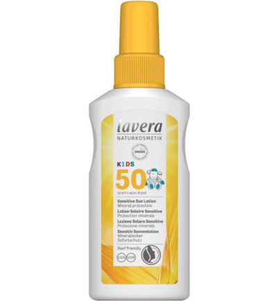 Zonnebrand/sun spray kids SPF50+