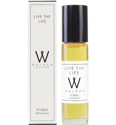 Perfume Live the life oil roller