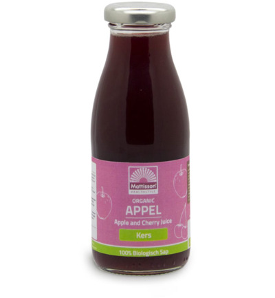 Appel en kersensap/Apple and cherry juice bio