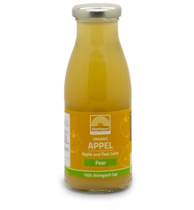 Appel en perensap /Apple and pear juice bio