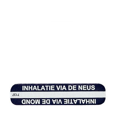 Sticker inhalatie neus/mond
