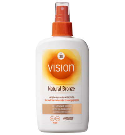 Medium natural bronze SPF30