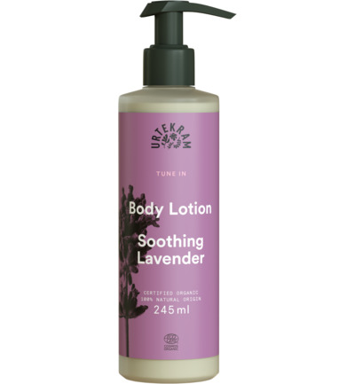 Tune in soothing lavender body lotion