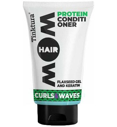 Wow curls & waves conditioner keratine flaxseed