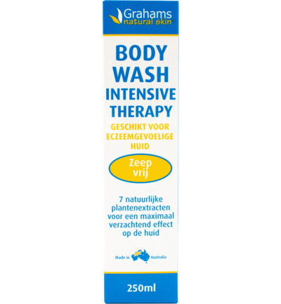 Body wash intensive therapy