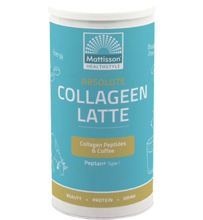 Absolute collageen & latte instant coffee drink