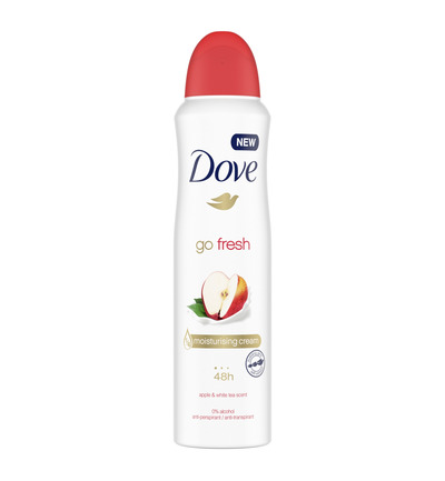 Deodorant spray go fresh apple/white tea