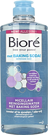 Micellair water met baking soda