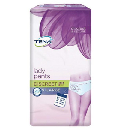 Lady pants discreet large