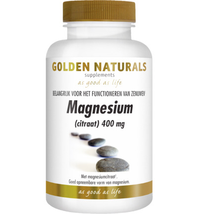 Magnesium citraat 400 mg