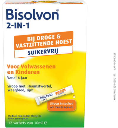 2 in 1 suikervrij sachet 10 ml